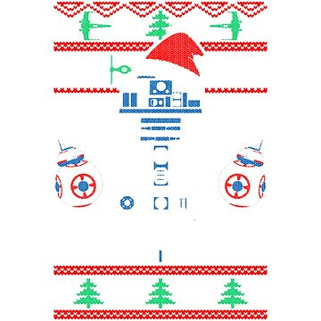 449 Droids Christmas - Men's Premium T-S by teerich