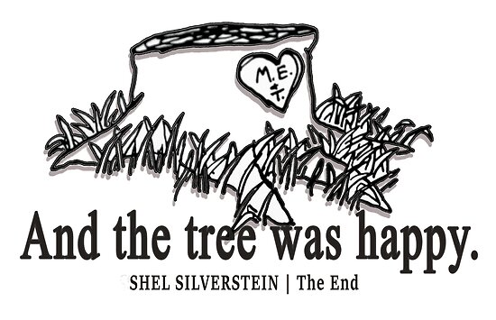 """Shel Silverstein Wall Decal: """"The Giving Tree By Shel Silverstein """" Posters By"""