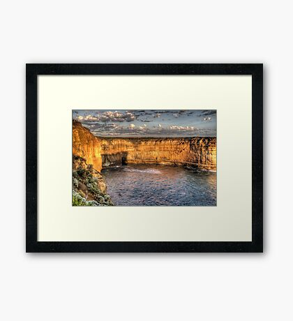 The Winds Of Time - Great Ocean Road , Victoria , Australia - The HDR Experience Framed Print
