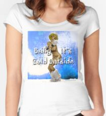 Baby It's Cold Outside Women's Fitted Scoop T-Shirt
