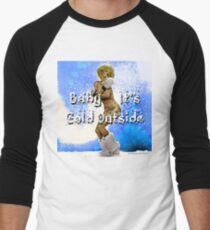 Baby It's Cold Outside Men's Baseball ¾ T-Shirt