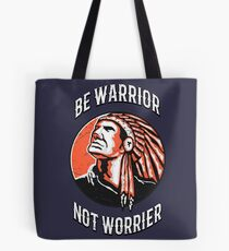 American Native Indian Warrior  Tote Bag