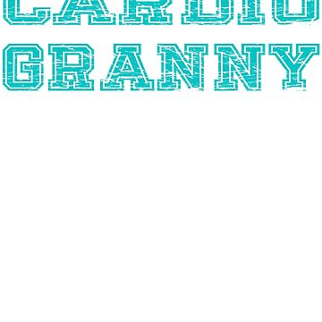 Cardio Granny by troy1969