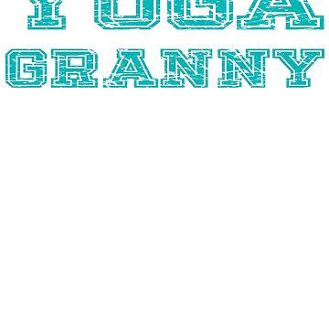 Yoga Granny by troy1969