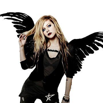 Avril Lavigne Angel by zeratul