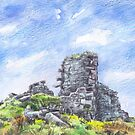 Morvah Hill Mine, Cornwall by Barnaby Edwards