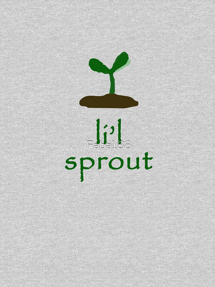 li'l sprout  by Faba188