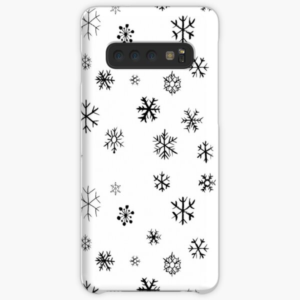 Snowflakes (black) Samsung Galaxy Snap Case