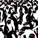 meanwhile penguins II by Liis Roden