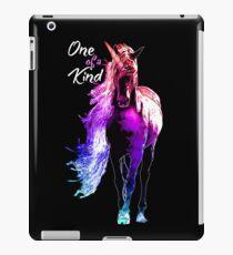 unicorn, raimbow, one of a kind iPad Case/Skin