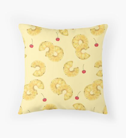pine and cherry Throw Pillow