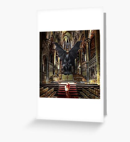 Devils Diciple Greeting Card