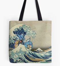 The Great Wave Off Gyarados Tote Bag