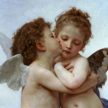 Cupid and Psyche Children Particular by BulganLumini