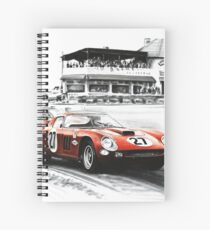 Ferrari 250 GTO. The legends of Ferrari Spiral Notebook
