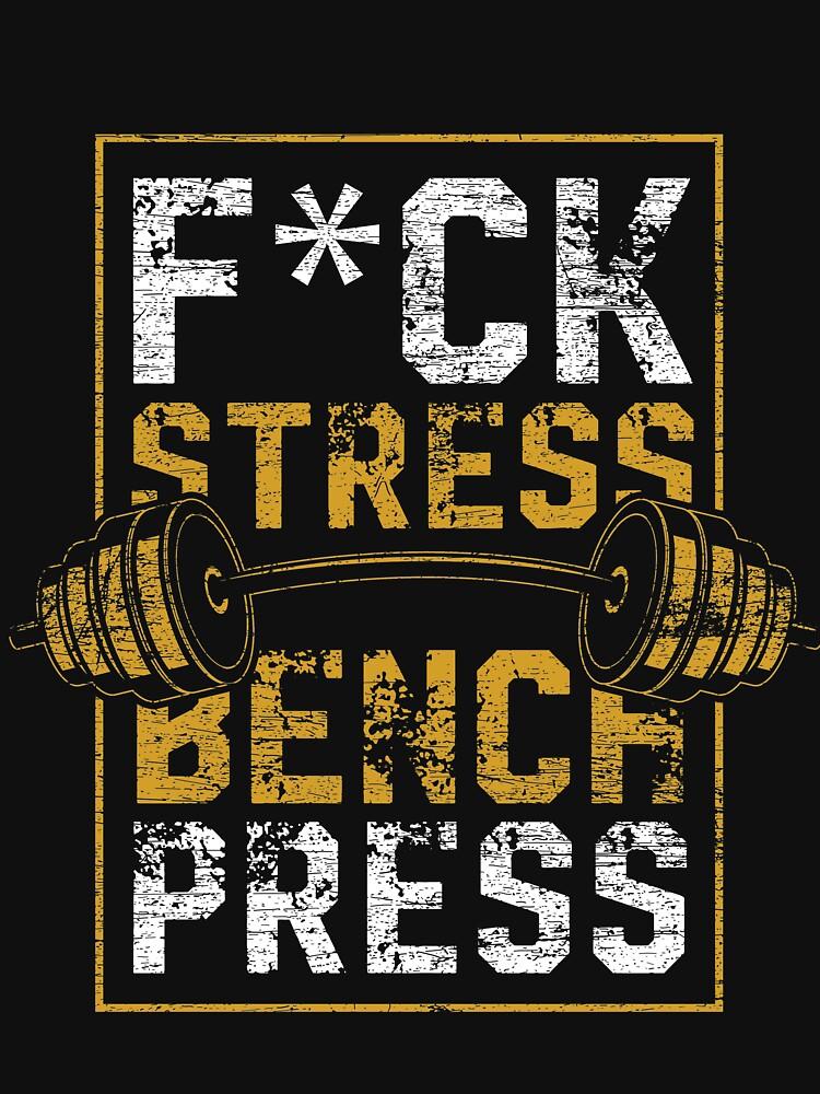 Bench press sports by GeschenkIdee