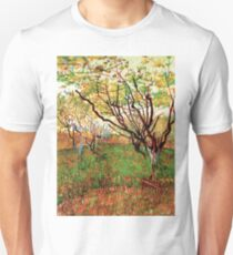 Vincent van Gogh, Orchard in Blossom T-Shirt