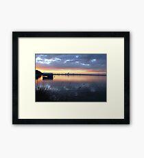 Crawley Boatshed by Sunrise Framed Print