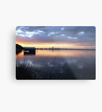 Crawley Boatshed by Sunrise Metal Print