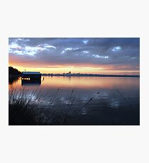 Crawley Boatshed by Sunrise Photographic Print