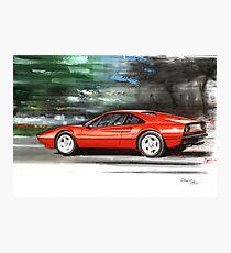 Ferrari 308 GTB Photographic Print