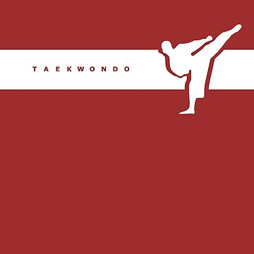 Taekwondo Stripes White Belt by sher00