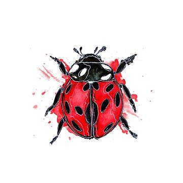 Ladybug by Pintarrajearte