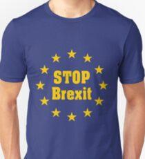 Pro EU Stop Brexit European Anti Brexit Pro Referendum Unisex T-Shirt