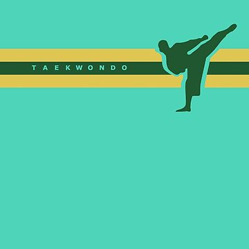 Taekwondo Stripes Green Stripe by sher00