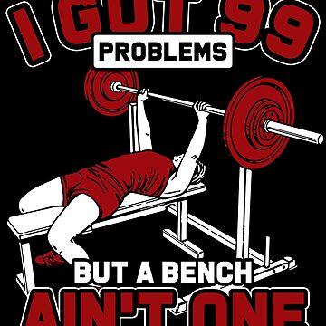 Bench press problems by GeschenkIdee