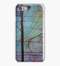 Where words travel iPhone Case/Skin