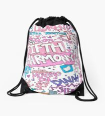 Fifth Harmony collage Drawstring Bag