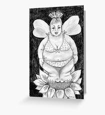 Fuller Figure Fairy Series 1 Greeting Card