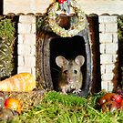 festive christmas mouse by Simon-dell