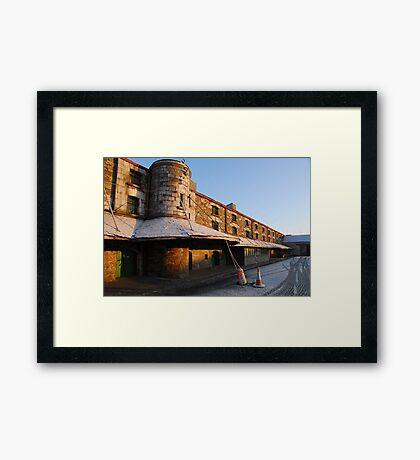 Cork Bonded Warehouses Framed Print