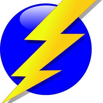 Lightning bolt by BigRedDot