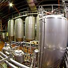 Fisheye view of a Brewery by Richard Majlinder