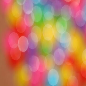Rainbow Colors Cool Bubbles by FrancisDigital