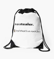 It's a rock fact! #3 Drawstring Bag