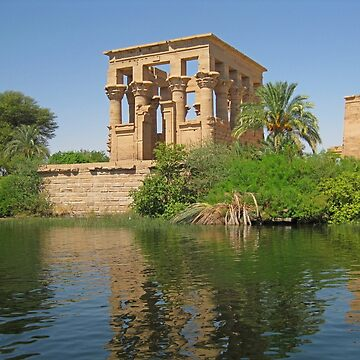 Temple of Philae by Johnhalifax