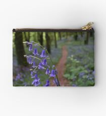 Bluebells of Knockbarren Zipper Pouch