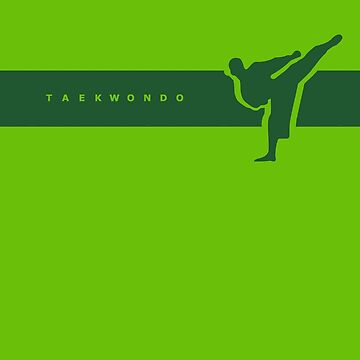 Taekwondo Stripes Green Belt by sher00