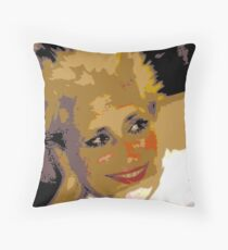 Pupa Throw Pillow