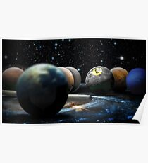 Planetary Pool Poster