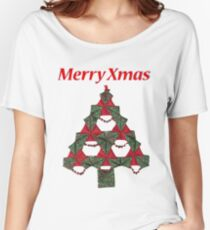 Quilted Xmas Women's Relaxed Fit T-Shirt
