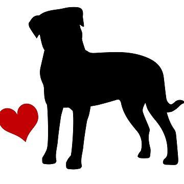Rottweiler by Vectorqueen