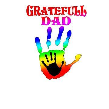 GRATEFUL DAD TIE DYE by Motion45