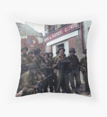80th Infantry Division Throw Pillow