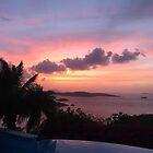 Island Sunset by philljoe