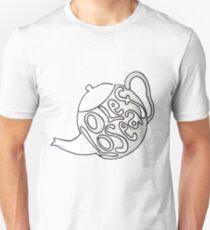 Loose Leaf tea pot Unisex T-Shirt